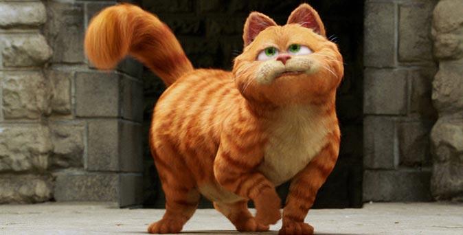"""เจ้าแมวอ้วนจอมขี้เกียจ """"Garfield"""" เตรียมกลับมาโลดแล่นบนจอยักษ์อีกครั้ง"""